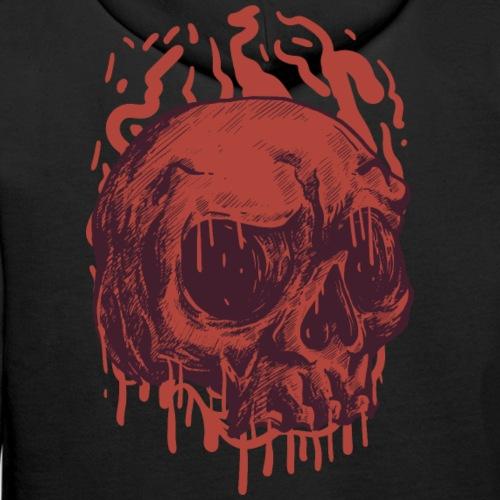 Bloody Skull - Miesten premium-huppari