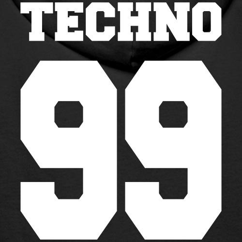 Techno 99 - Männer Premium Hoodie