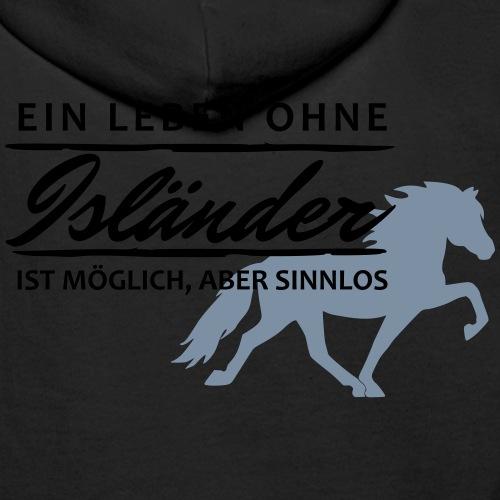 T-Shirt Spruch Leben Islä - Männer Premium Hoodie