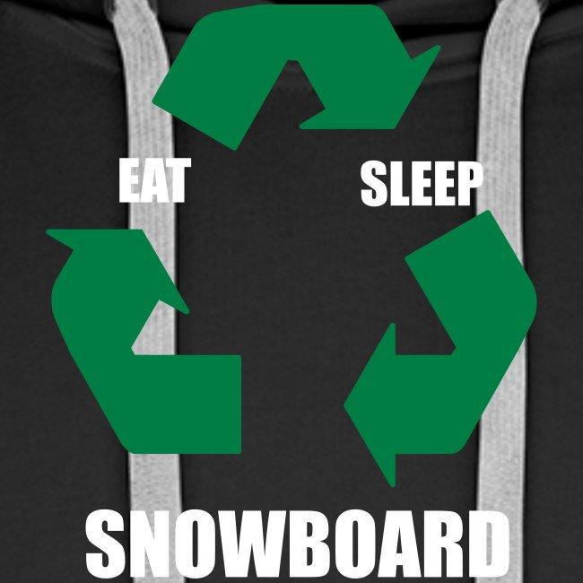eatsleepsnowboard greenarrows