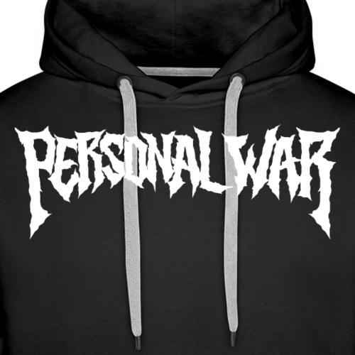 PERSONAL WAR collection 2020 - Sweat-shirt à capuche Premium pour hommes