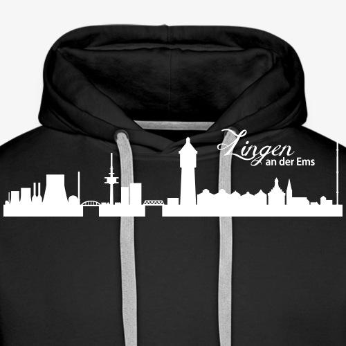 Lingener Skyline - Männer Premium Hoodie