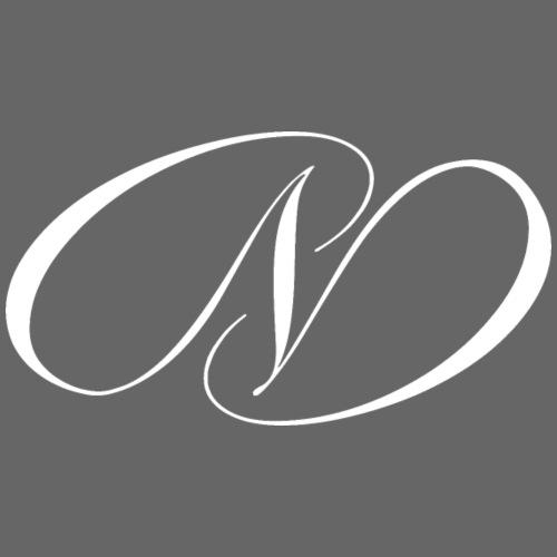 Logo White - Männer Premium Hoodie