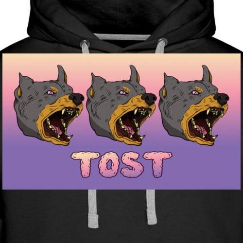 Tost logo ANGERY - Men's Premium Hoodie