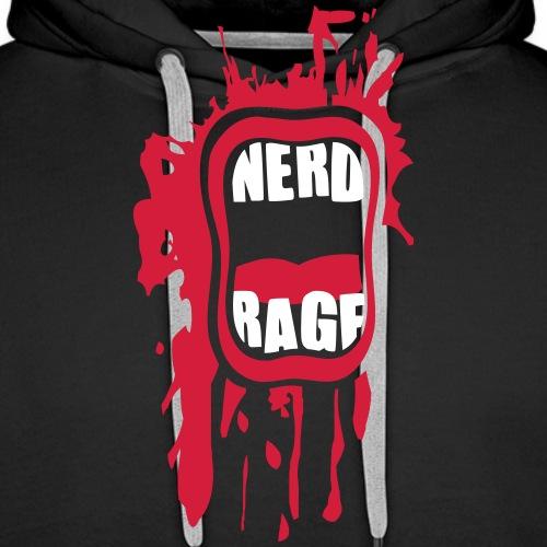 Nerd Rage - Männer Premium Hoodie