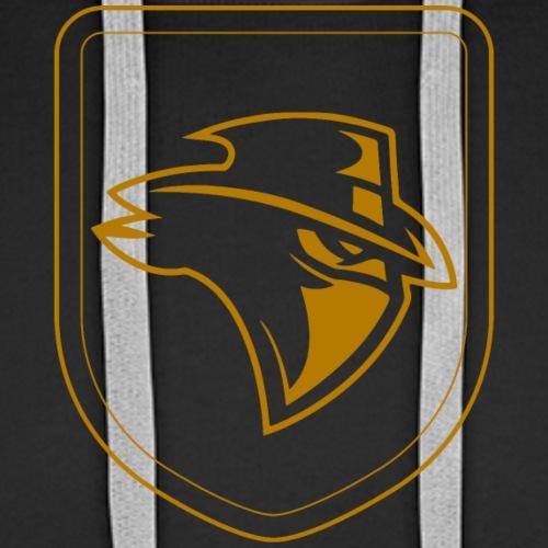 Shield Bandit - bronze - Men's Premium Hoodie