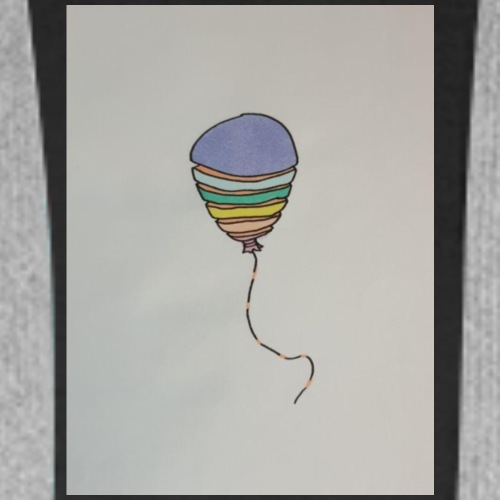 Regenbogen Balloon - Männer Premium Hoodie
