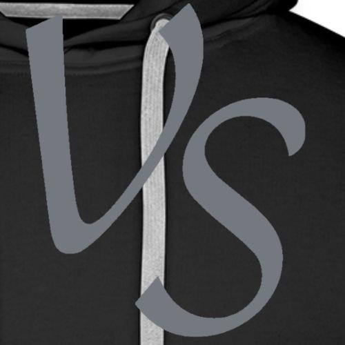 vs grå png - Herre Premium hættetrøje