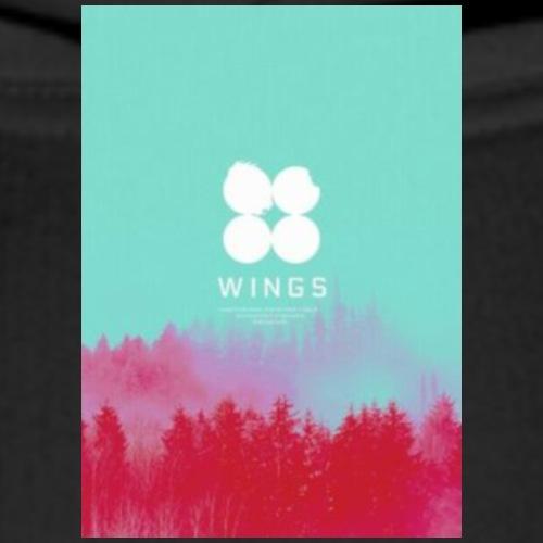 BTS (Wings) - Sweat-shirt à capuche Premium pour hommes