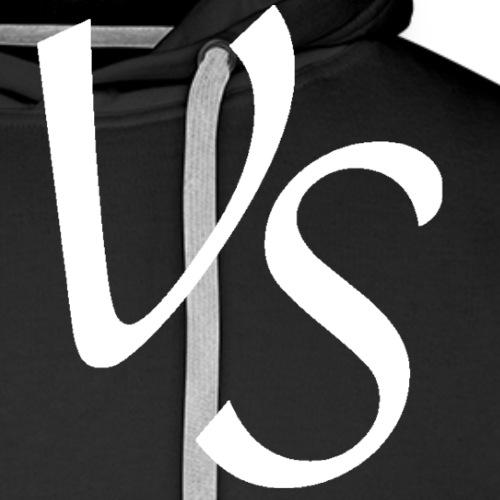 vs hvid png - Herre Premium hættetrøje