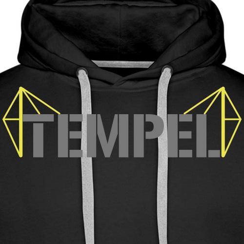 Tempel neu - Männer Premium Hoodie