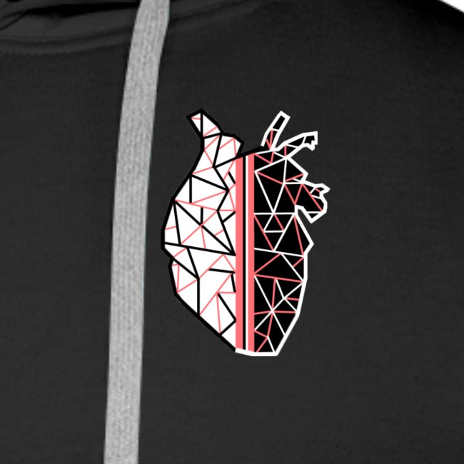 ANATOMICAL LOVE with stripes.