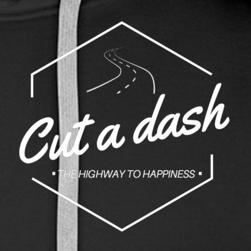 The highway to happiness - Premiumluvtröja herr