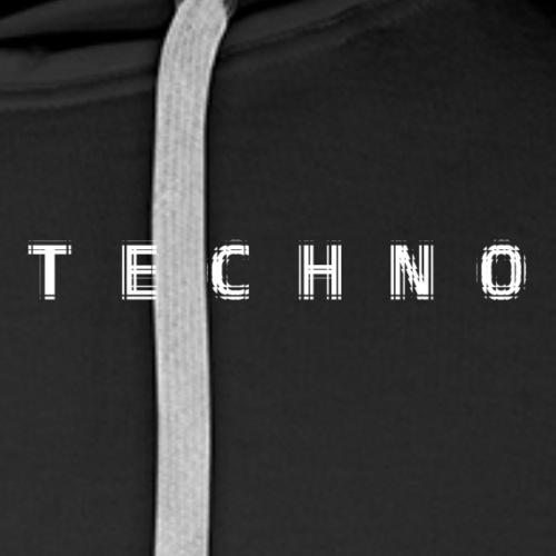 Techno Line Tile - Men's Premium Hoodie