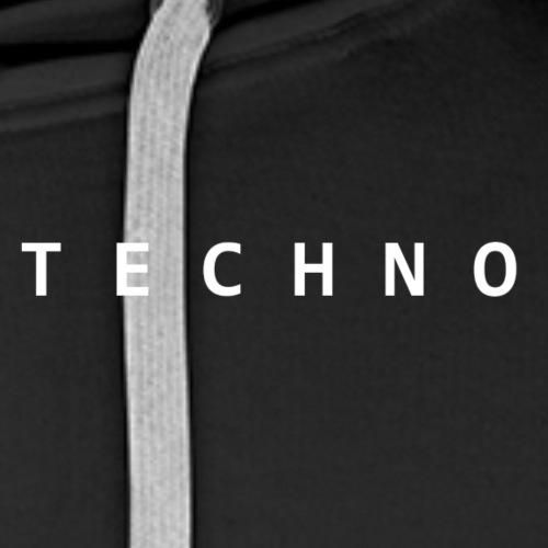 Techno - Men's Premium Hoodie