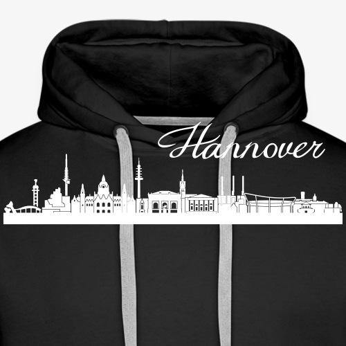 Hannoveraner Skyline - Männer Premium Hoodie