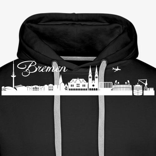 Bremer Skyline - Männer Premium Hoodie