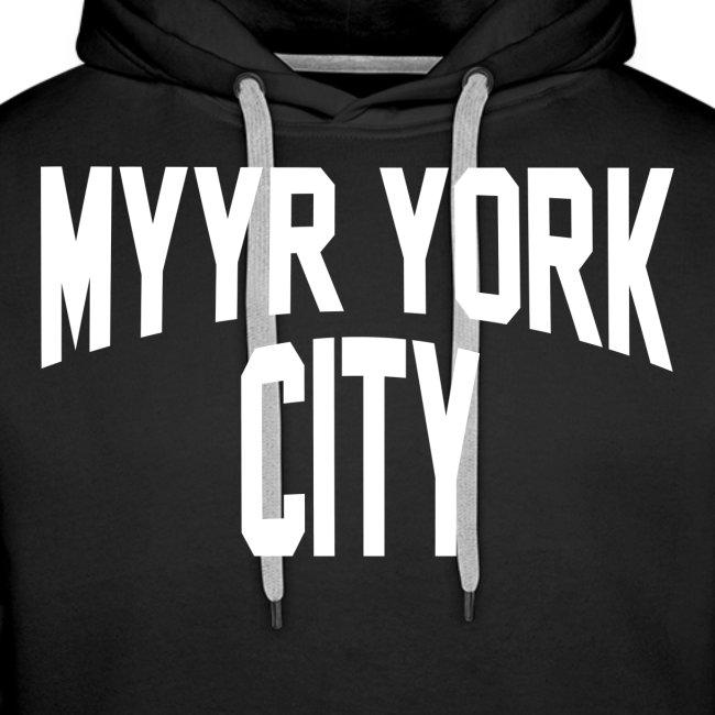 MYYR YORK CITY WHITE
