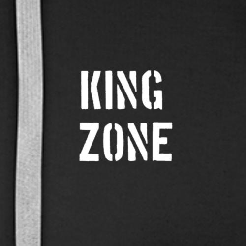 KING ZONE - Sudadera con capucha premium para hombre