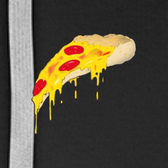 Svævende Pizza.
