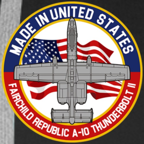 A-10 Thunderbolt escutcheon! - Männer Premium Hoodie
