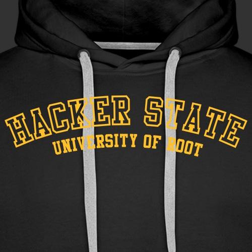 geek hackerstate - Premiumluvtröja herr