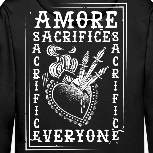 HELL apparel | AMORE SACRIFICES EVERYONE | 2019