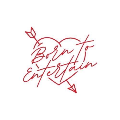 Born To Entertain - Sweat-shirt à capuche Premium pour hommes