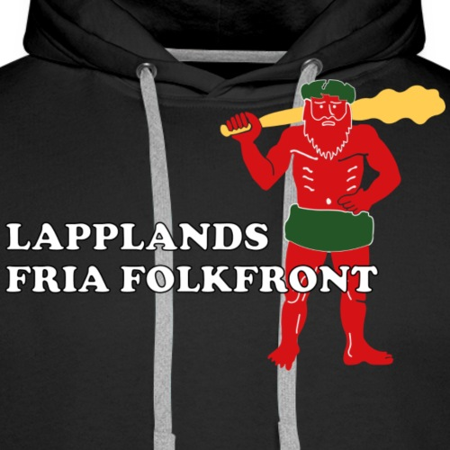 Lapplands fria folkfront - Premiumluvtröja herr