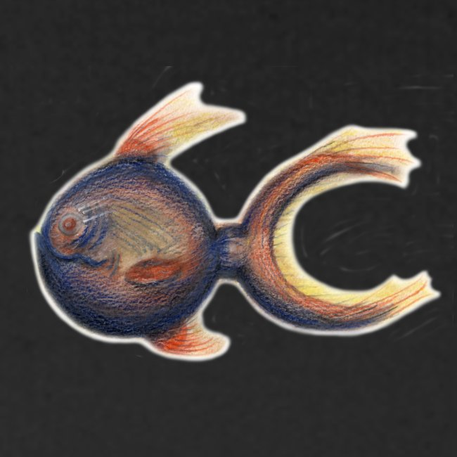 Kugelsichel Fisch