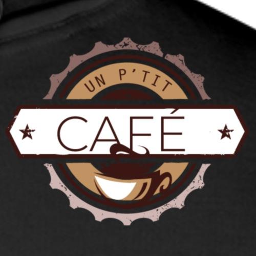 Un p'tit café ? L'original - Sweat-shirt à capuche Premium pour hommes
