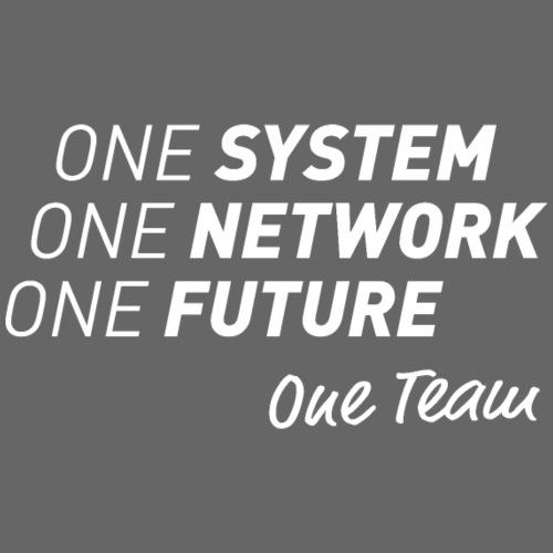 One Team - Herre Premium hættetrøje