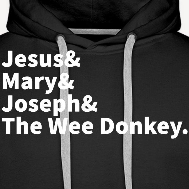 JESUS MARY JOSEPH AND THE WEE DONKEY