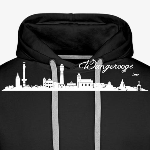 Wangerooger Skyline - Männer Premium Hoodie