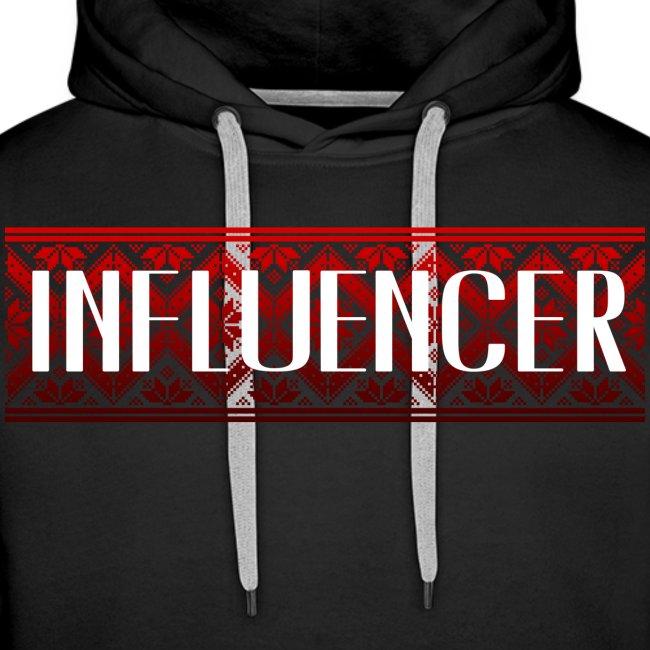 INFLUENCER | ORIENTALISCHES MUSTER | ROT