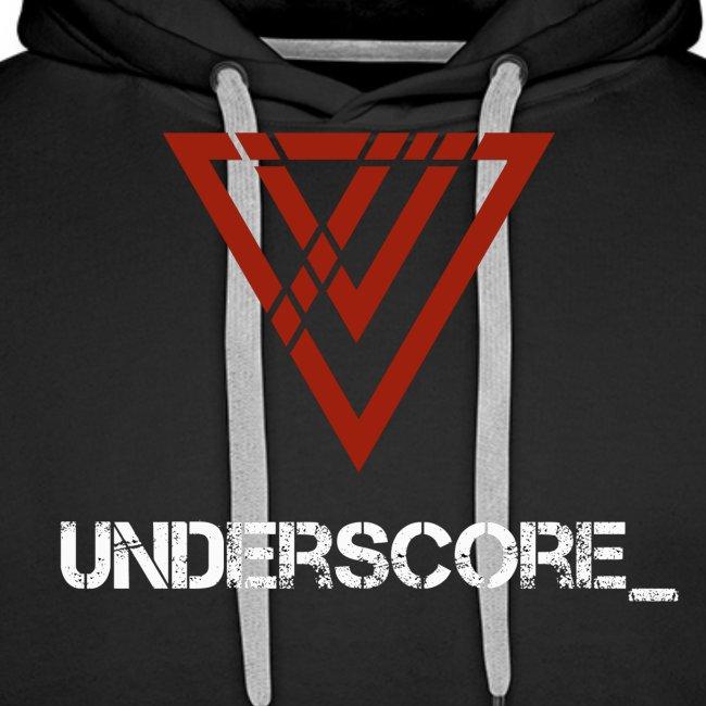 Underscore_ Red_White