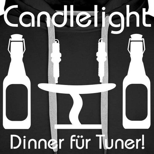 Candlelight Dinner - Männer Premium Hoodie