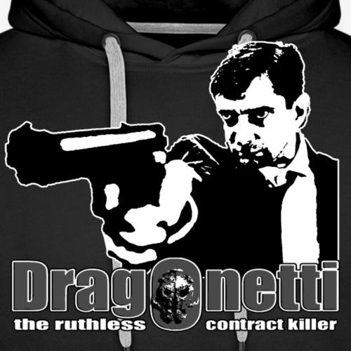 Dragonetti in Gray - Premiumluvtröja herr