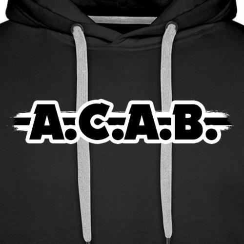 ACAB - 1312 - Sweat-shirt à capuche Premium pour hommes