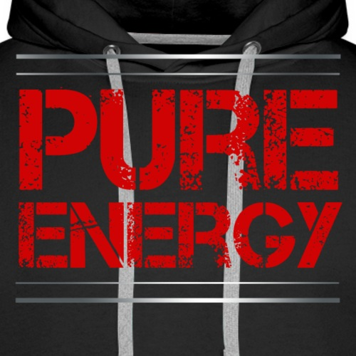 Sport - Pure Energie - Männer Premium Hoodie