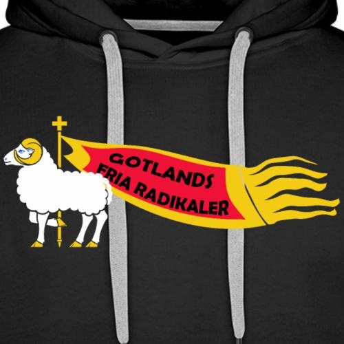 Gotlands Fria Radikaler - Premiumluvtröja herr