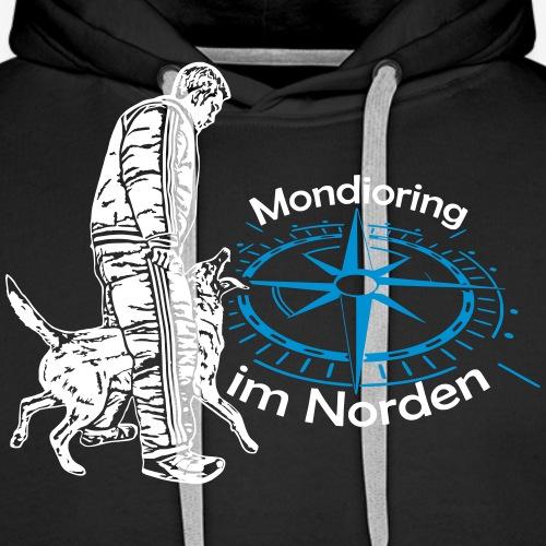 Mondioring im Norden / Motiv vorne / für dunkel - Männer Premium Hoodie