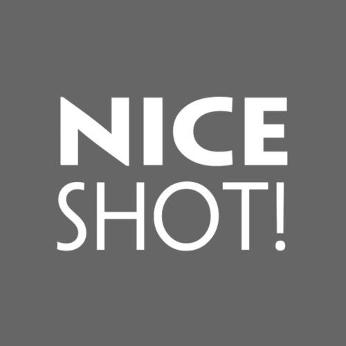 Nice Shot - Herre Premium hættetrøje