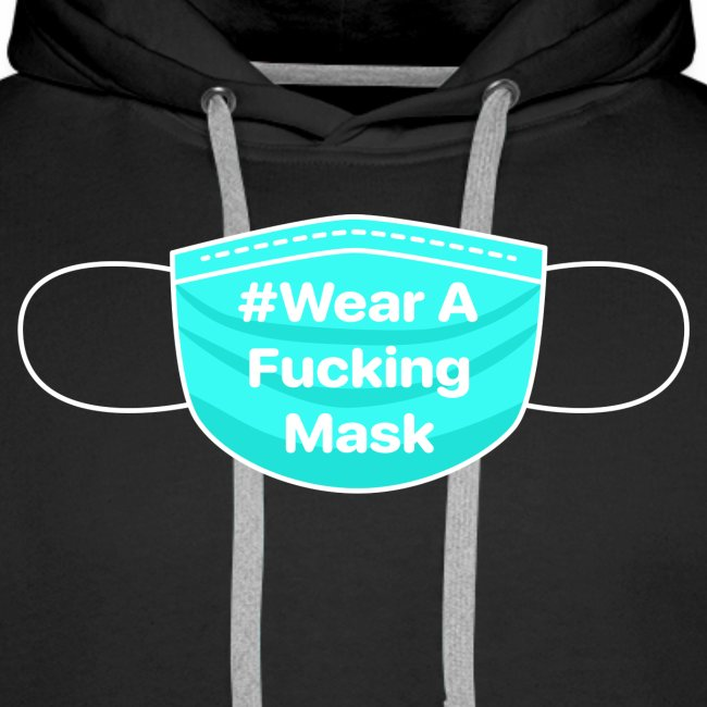 #WearAFuckingMask White Earloops