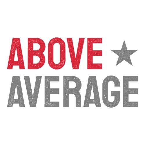 above average - Premiumluvtröja herr