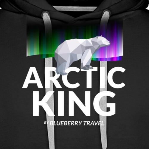 Arctic King - Felpa con cappuccio premium da uomo