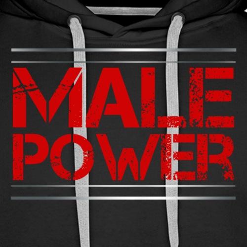 Sport - Male Power - Männer Premium Hoodie