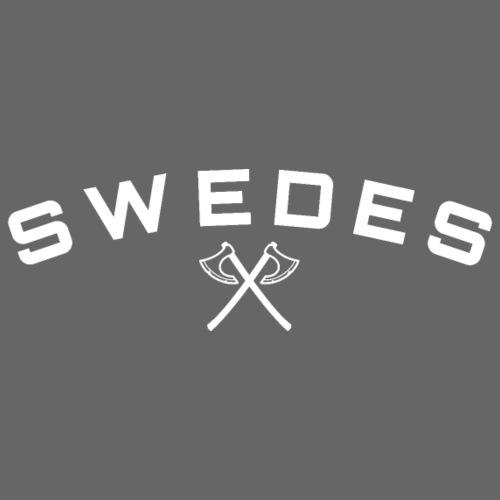 swedes, white print - Premiumluvtröja herr