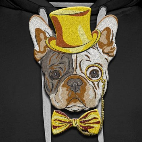 Mister FrenchBulldog - Sweat-shirt à capuche Premium pour hommes