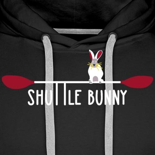 Shuttle Bunny für den Autofahrer der Paddelcrew - Männer Premium Hoodie